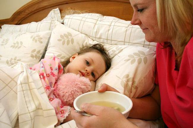 очень сильный сухой кашель у ребенка